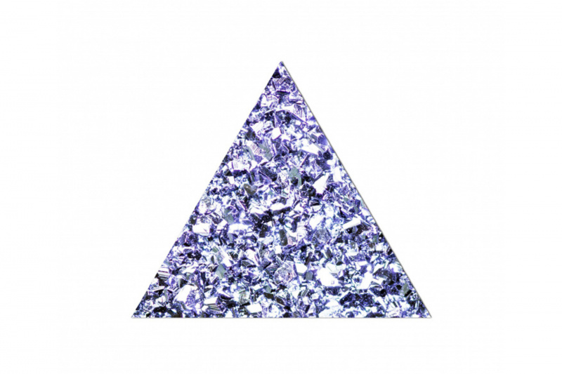 Osmium Triangle (5mm)