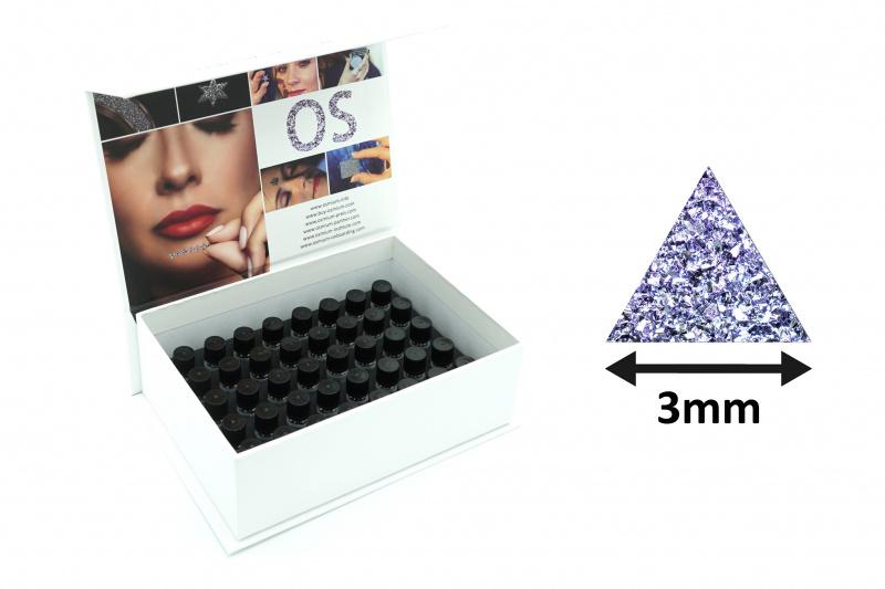 Triangle-Assortment-Box, fully stocked